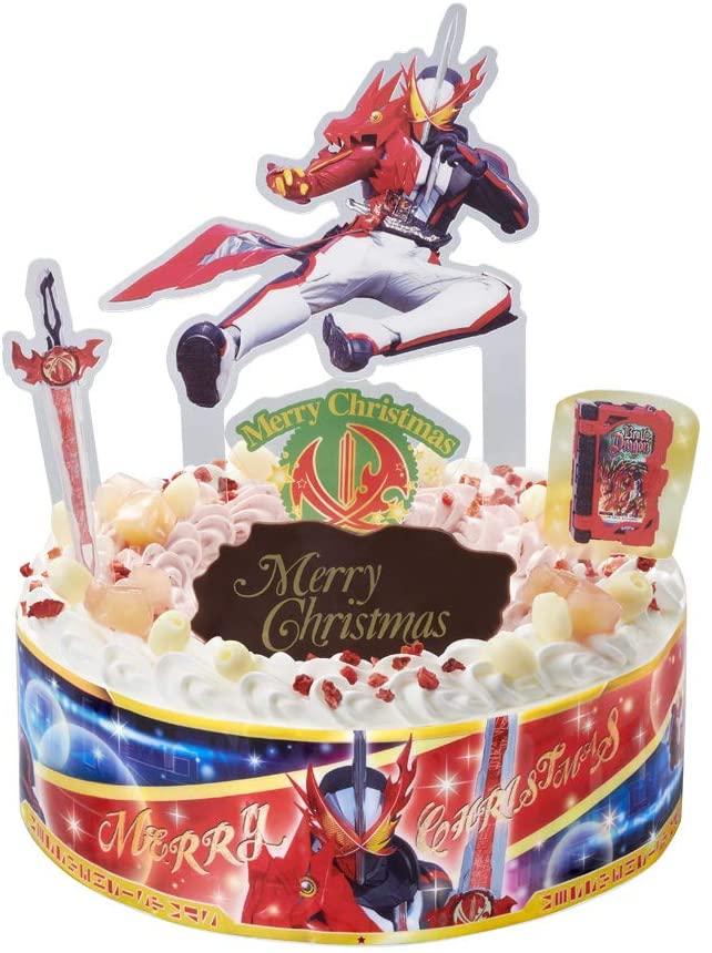 激しい売れ残りの香りがする、キャラデコクリスマス ケーキが1077円セール。