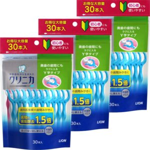 アマゾンでクリニカアドバンテージ デンタルフロス Y字タイプ 30本×3が2割引。マツキヨで互換品がもっと安い。