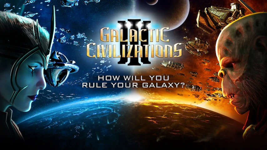 Epic GamesでGalactic Civilizations IIIが無料配信中。売値4100円。~1/29 1時。