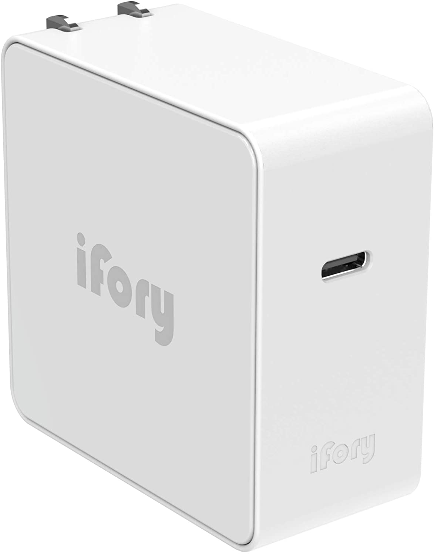 アマゾンでiFory USB C充電器 65W PDが半額。