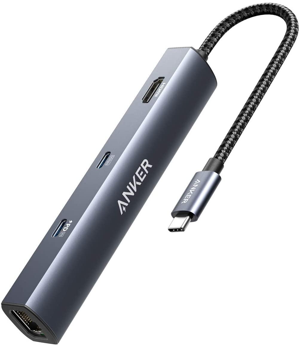 アマゾンでAnker PowerExpand 6-in-1 USB C ハブが初回限定300個、発売記念10%OFF。