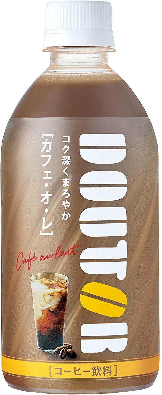 アマゾンでアサヒ飲料 「ドトール」 カフェ・オ・レ 480ml ×24本が20%OFF。
