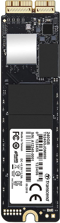 アマゾンでTranscend Mac専用SSD 240GB アップグレードキットが2000円OFF。マカーは大変だな。