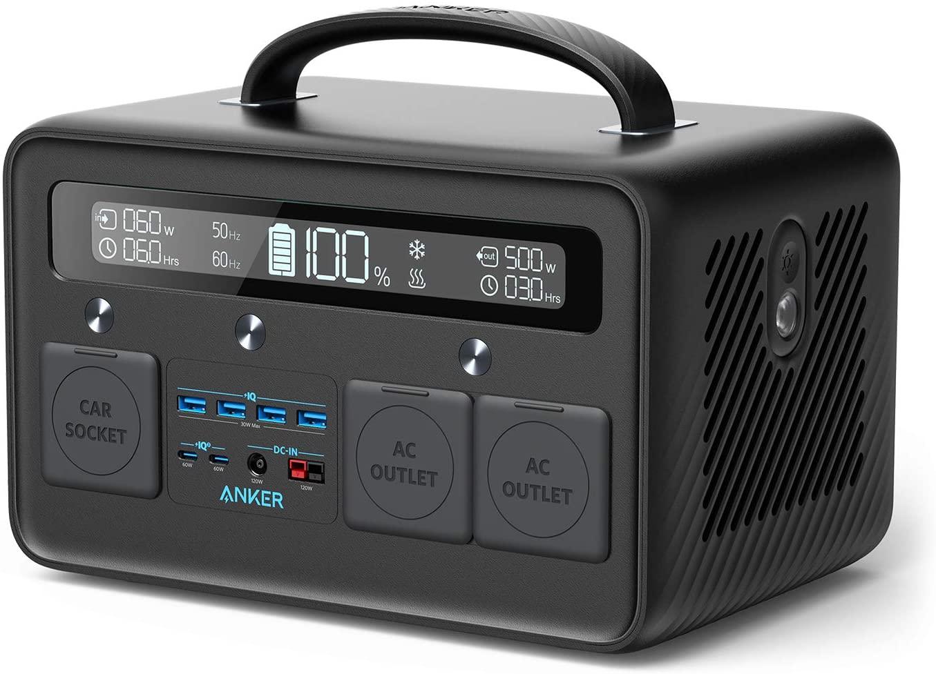 アマゾンでAnker PowerHouse II 800 (超大容量ポータブル電源 216,000mAh / 778Wh)がセール中。