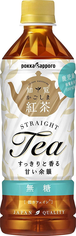 アマゾンでかごしま知覧紅茶無糖 500ml ×24本が400円引き。