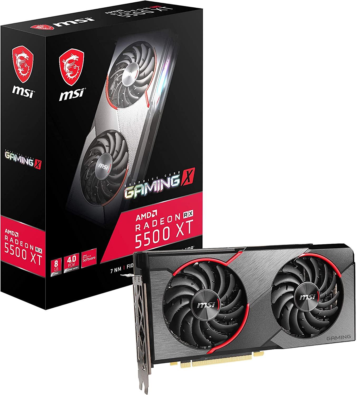 アマゾンでMSI Radeon RX 5500 XT GAMING X 8G グラフィックスボード VD7496が普通に販売中。マイニングにどうぞ。今買うのは情弱か。