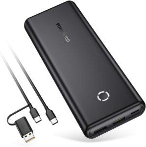 アマゾンでPoweradd モバイルバッテリー EnergyCell 20000mAh USB-PD対応が半額。2万mAhとしては破格のコスパ。