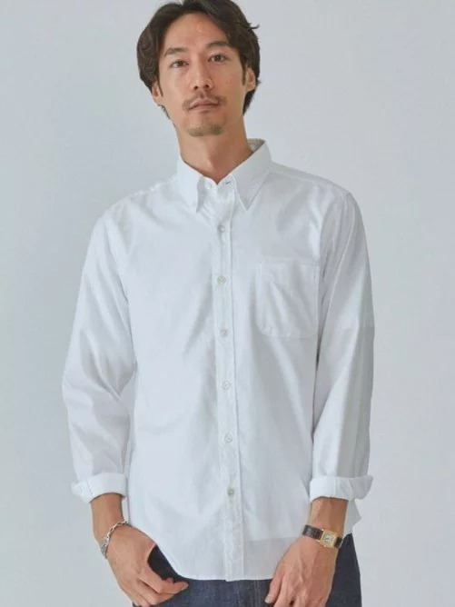 楽天ファッションでユナイテッドアローズ、SC ナチュラルフィット 長袖 シャツが半額。これが似合うには高身長+顔面偏差値が必要。
