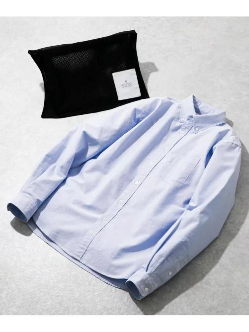 楽天ファッションでアーバンリサーチ ロッソ ハイパフォーマンスオックスボタンダウンシャツが半額近い。