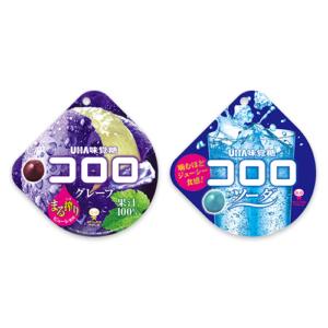 テンタメでUHA味覚糖 コロロ グレープ、コロロ ソーダが実質無料。~7/3。