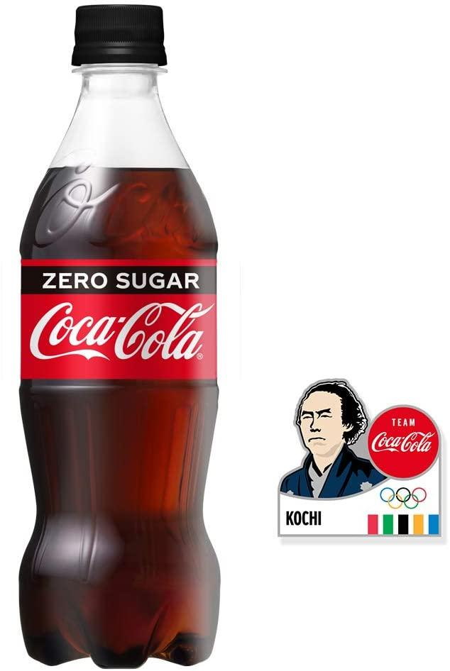 アマゾンでコカ・コーラが東京オリンピック2020バッジ付きセットで飲料を大量にセール中。