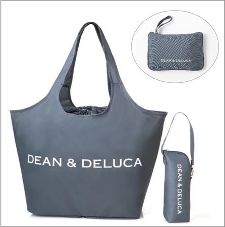 【販売開始】40代女性ファッション雑誌『GLOW(グロー)』8月号を買うと、DEAN & DELUCAのレジかご買物バッグ+ストラップ付き保冷ボトルケースが付録で付いてくる。6/28~。