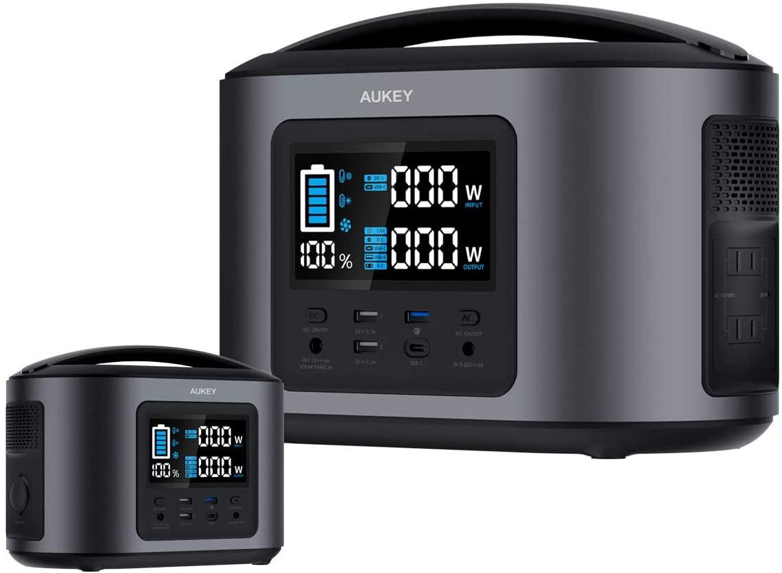 【6時間限定】アマゾンでAukey ポータブル電源 Power Zeus 600/Power Ares 400 が20%OFF。