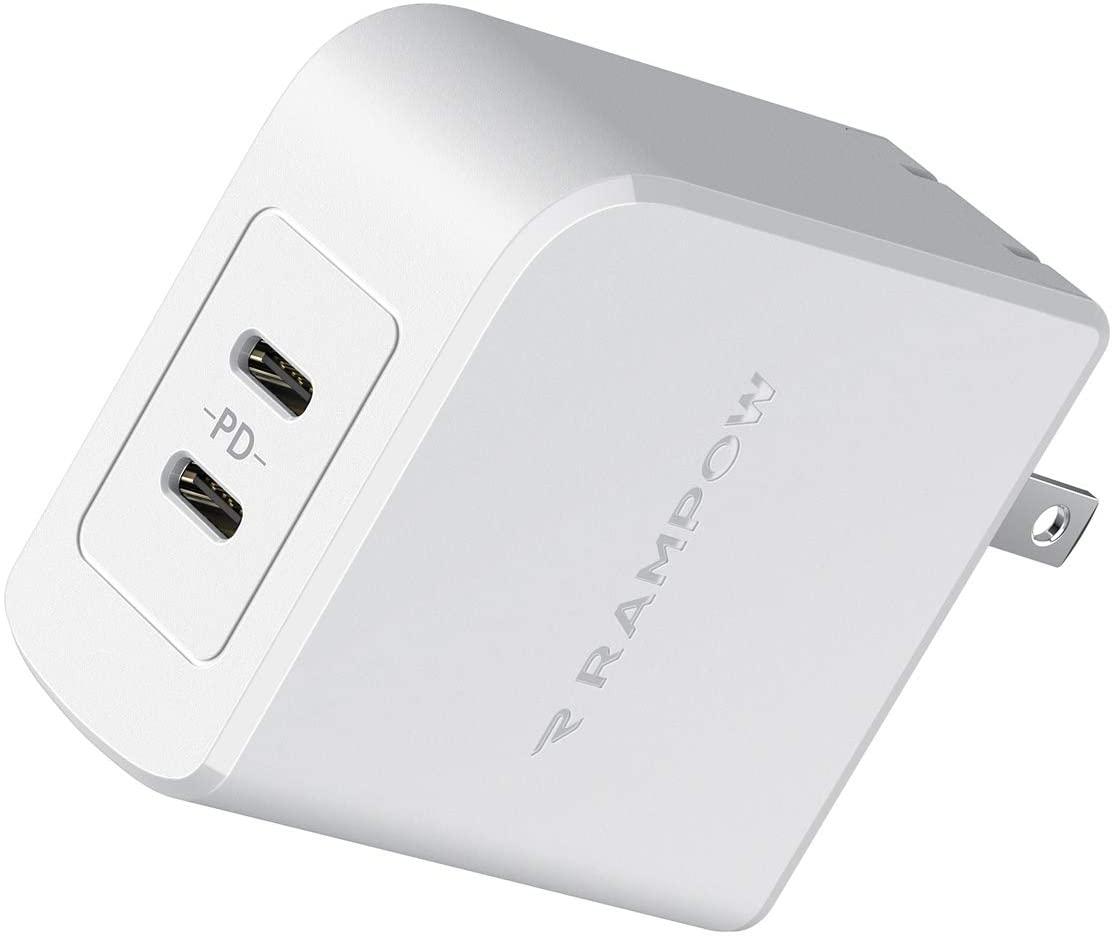Rampow PD充電器 45W USB-C急速充電器が半額。