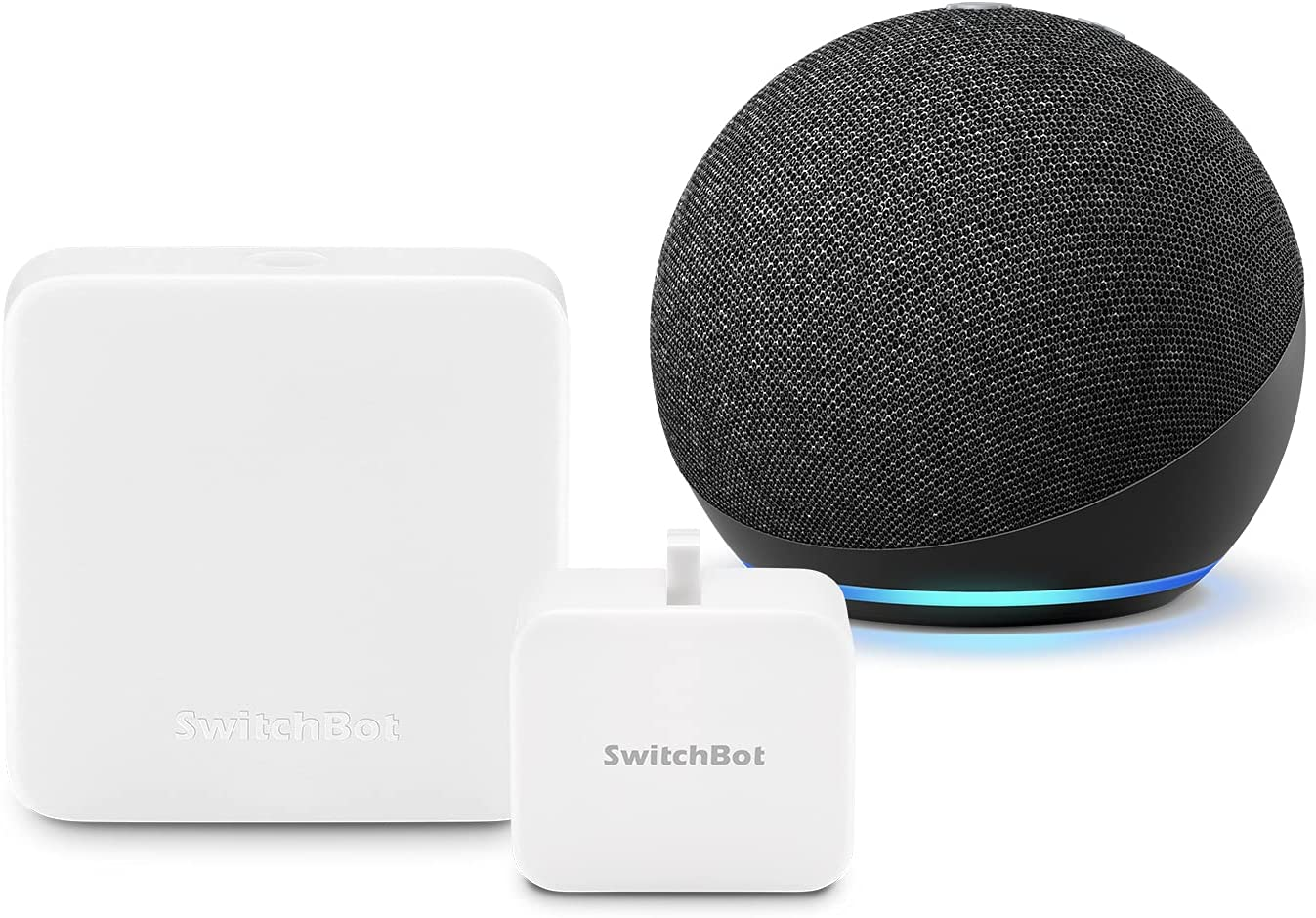 アマゾンで【はじめてスマートホームセット】Echo Dot 第4世代 + スイッチボット 学習リモコン Hub Mini + スイッチボットが半額以下。