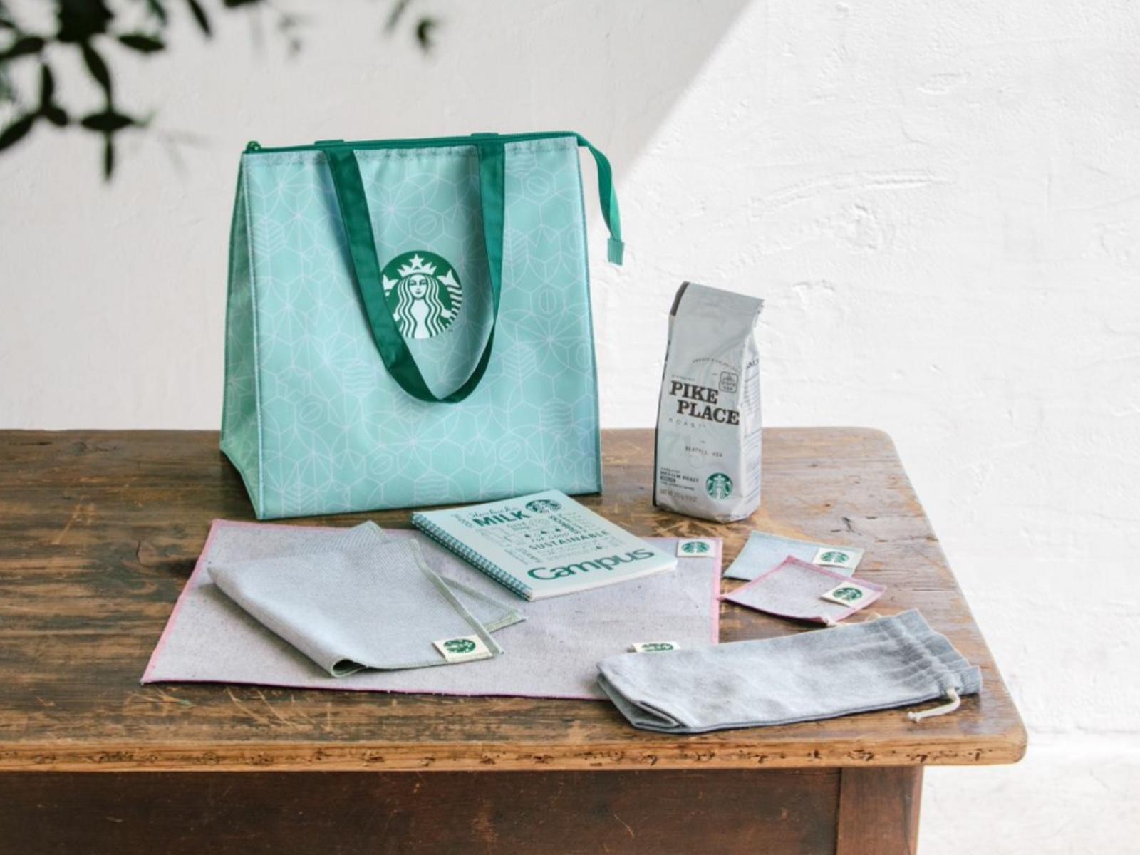スターバックス日本上陸25周年を記念して、夏の福袋「Starbucks 25th Greener Coffee Set」を7000円で抽選販売受付中。~6/28。
