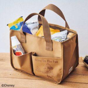 セブンネット限定、モノマックス2021年9月号を買うとミッキーマウス×ナノ・ユニバースの整理収納バッグが付いてくる。8/6~。