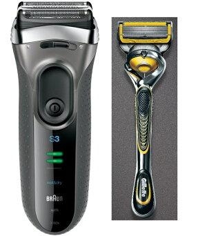 楽天でブラウン Braun シェーバー シリーズ3 3080s-S & ジレット プロシールド 髭剃り セットがポイント20%。