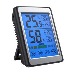 【これだけでかくて時計なし、草】アマゾンでSOFER 温度計 湿度計の割引クーポンを配信中。