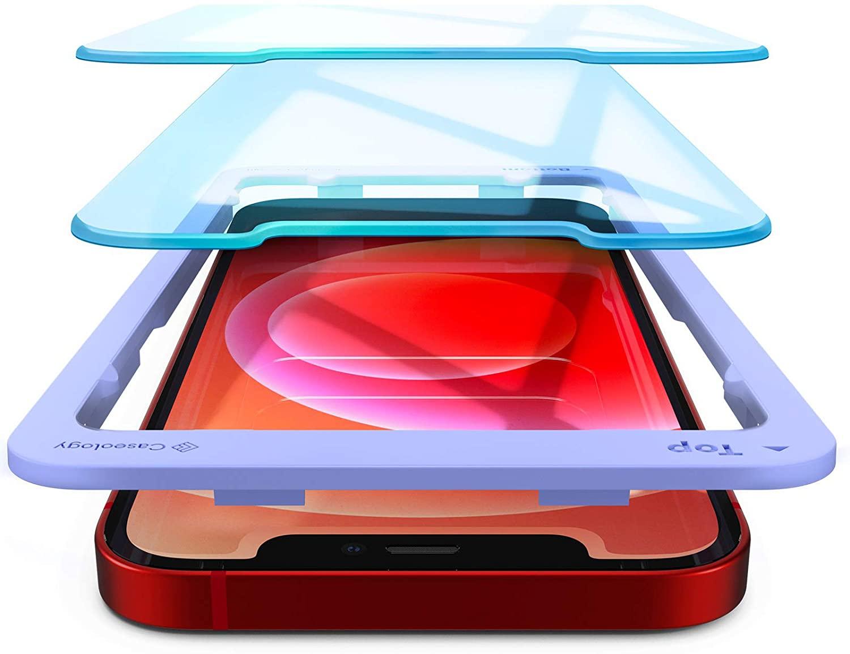 Spigenのモバイルアクセサリーブランド「Caseology」でiPhone 12無印/mini/Proのガラスフィルム2枚セットがワンコイン500円セール。
