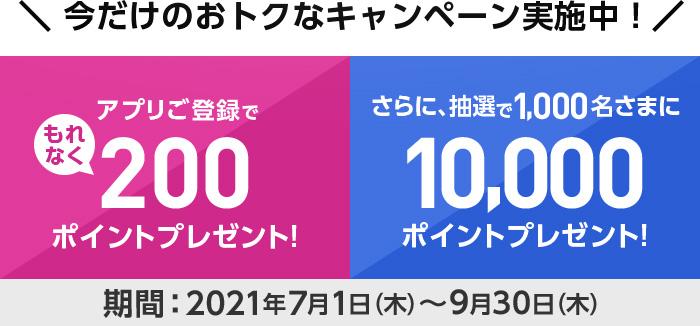 ダイエットアプリのROUTYでもれなく200WAONポイント、更に抽選で1000名に10000ポイントが当たる。~9/30。