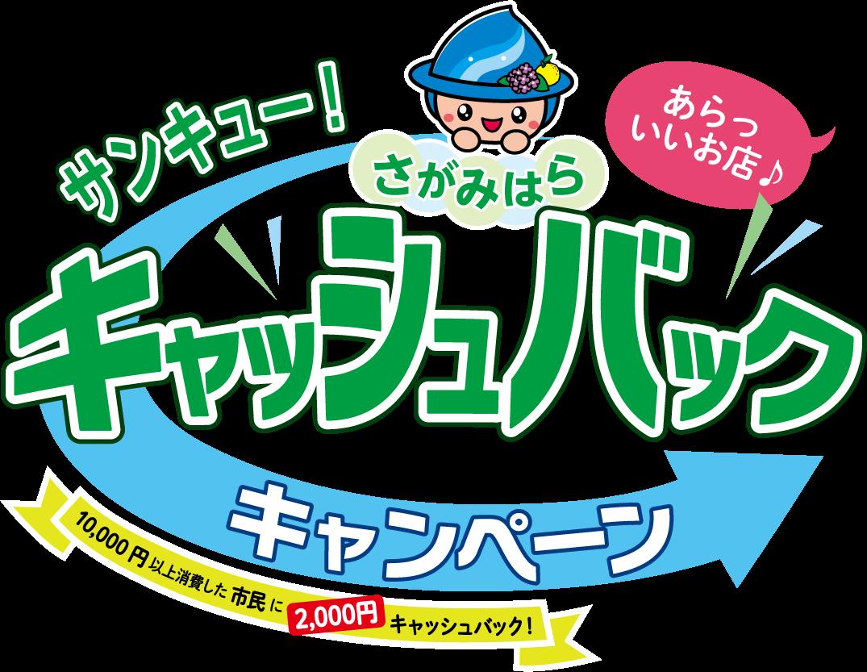 神奈川県相模原市で1万円以上買うと、2000円現金振込バック。支払いは現金でもOK。9/1時点で相模原市民であることが条件、つまりまだ間に合う急げ!9/1~9/30。