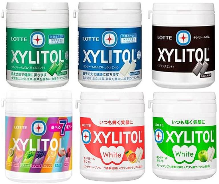 アマゾンでロッテ キシリトールボトルガムアソートセット 6種が2割引。
