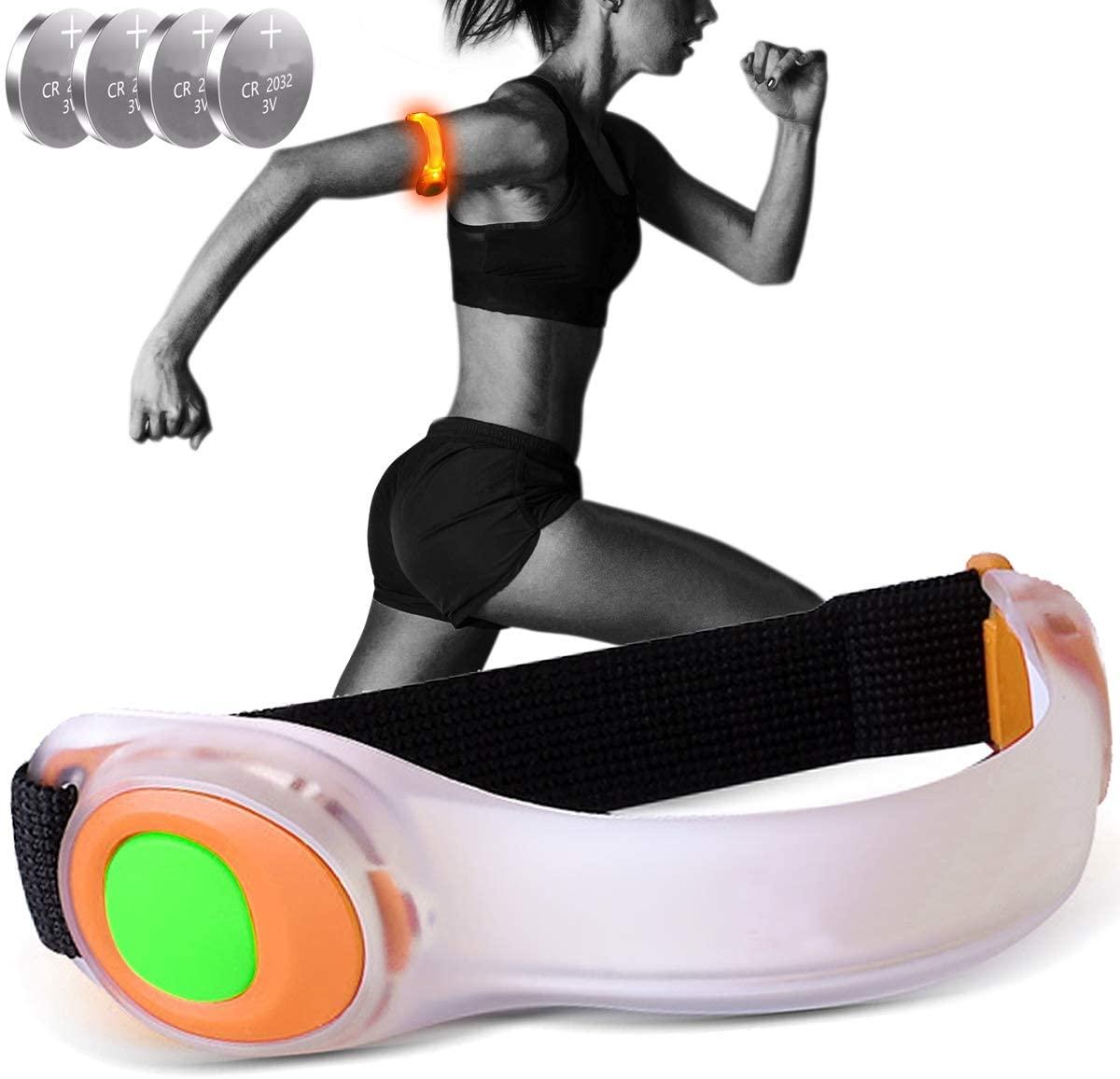 【管理人愛用中】OnePro LEDアームバンドが半額。腕太めのおっさんは無理よ。
