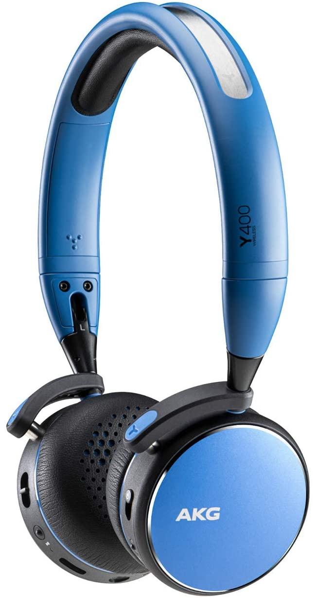 アマゾンでAKG Y400 WIRELESS Bluetooth ワイヤレスヘッドホンが驚異の黒17380円⇒青5800円。