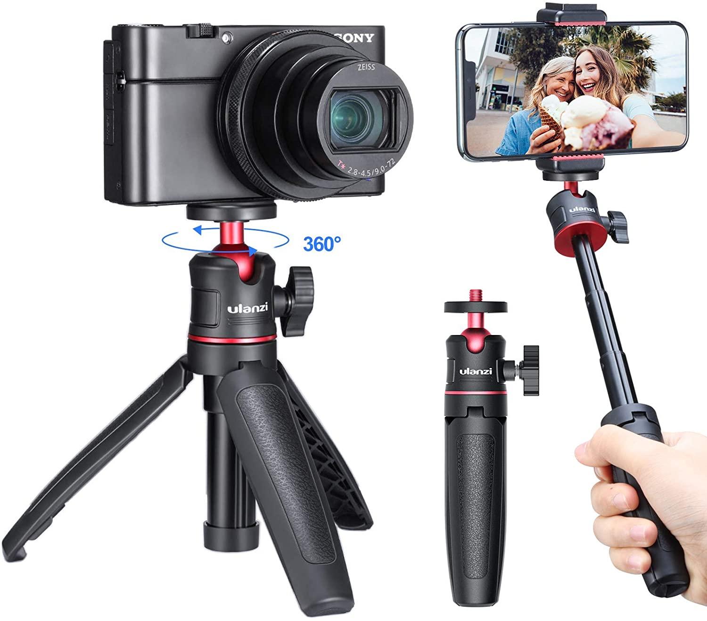 アマゾンでULANZI MT-08 カメラ三脚スタンド 3wayが半額の1044円。