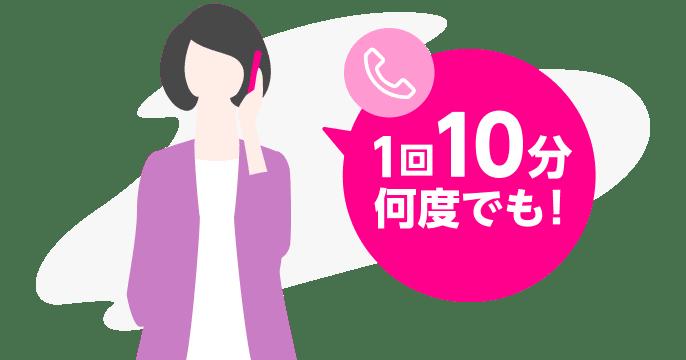 楽天モバイル、OS標準アプリで1回10分の電話がかけ放題となるオプションを1100円で提供開始。8/27~。