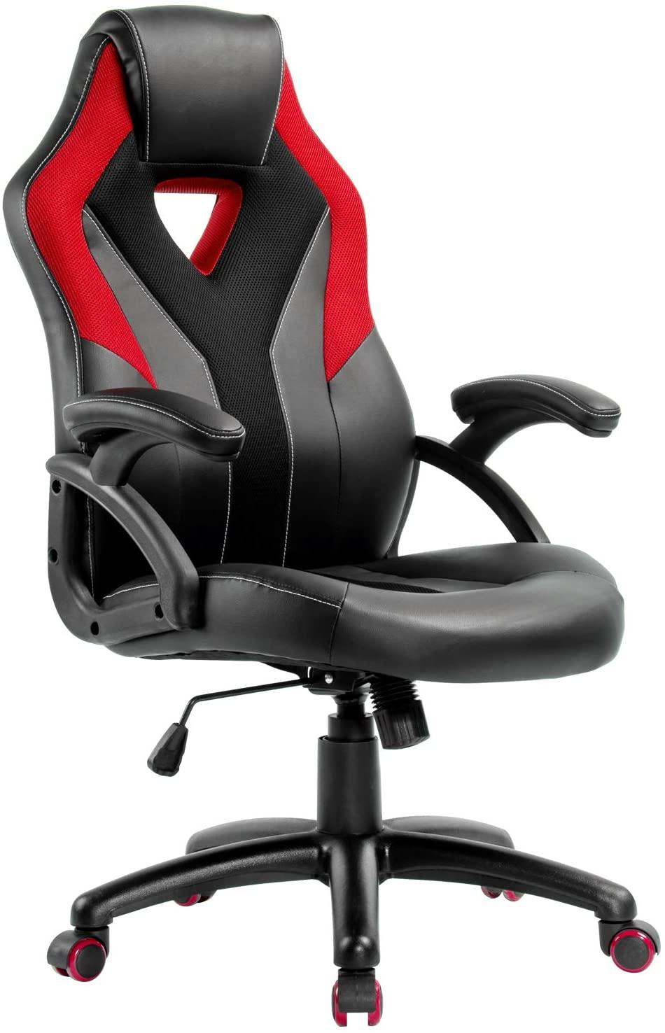 アマゾンでゲーミングチェア風、割と普通の椅子が4割引。