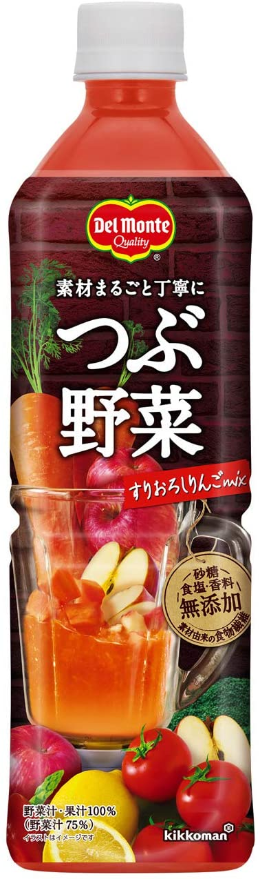 アマゾンでデルモンテ つぶ野菜 すりおろしりんごmix 900g ×12本などが2割引。