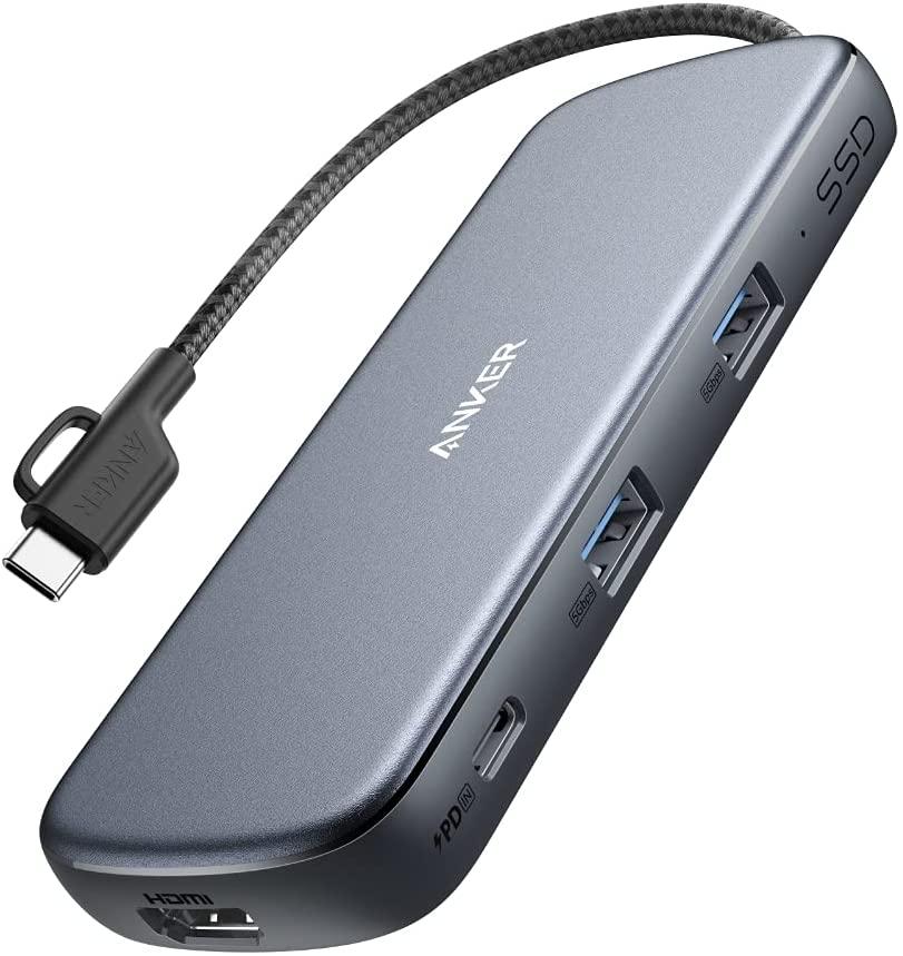 アマゾンでAnker PowerExpand 4-in-1 USB-C SSD256GB内蔵ハブがポイント20%。発熱は大丈夫か。